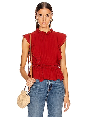 Florence Crepe Top