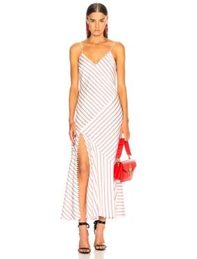 Stripe Slip Panel Dress
