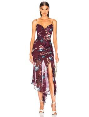 Floral Drawstring Dress