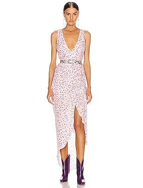 Drape Front Dress