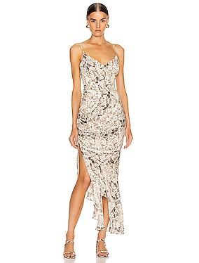 Triangle Top Slip Dress