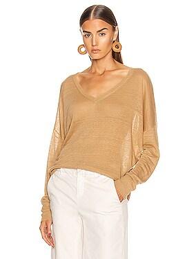 Ginny Linen Sweater