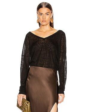Nina Linen Sweater