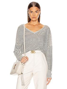 Maggie Linen Sweater
