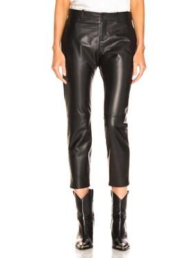 Tel Aviv Leather Pant