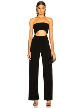 Strapless Cut Out Jumpsuit