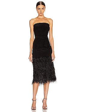 Feather All In One Dress