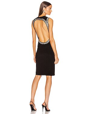 for FWRD Studded Open Back Dress