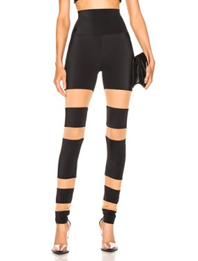 Sheer Block Legging