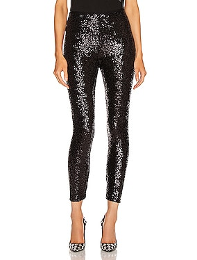 Overlapping Sequin Legging