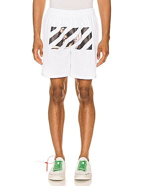 Caravaggio Angel Mesh Shorts