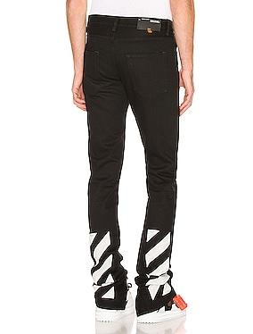Slim Split Jeans