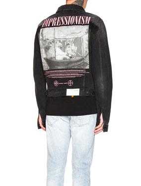 Exaggerated Denim Jacket