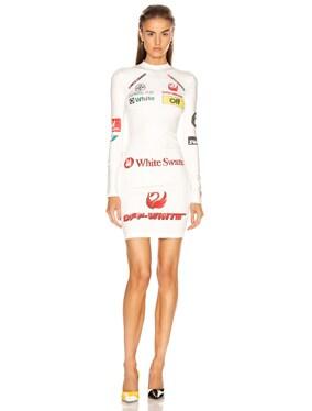 Multi Logo Sporty Dress