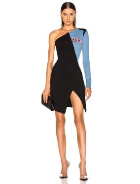 One Shoulder College Dress