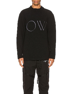 OW Knit Oversize Sweater