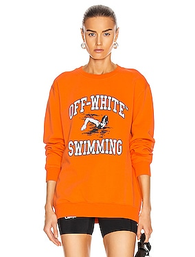 Swimming Crewneck Sweatershirt