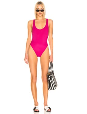 Cross Body Swimsuit