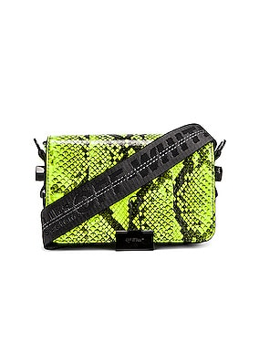 Python Mini Flap Bag