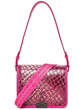 PVC Net Flap Bag