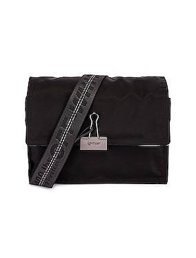 Zipped Flap Bag