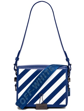 Diagonal Flap Bag