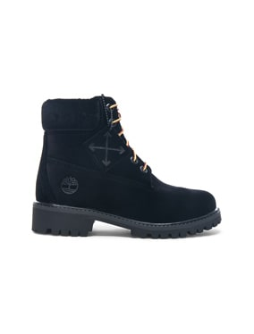 x Timberland Velvet Hiking Boots