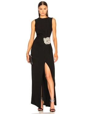 Crystal Embellished Gown