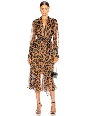 Leopard Day Dress