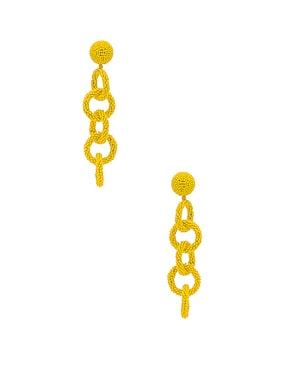 Beaded Link Earrings