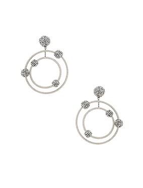 Beaded Orbit Earrings
