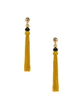 Cord Tassel Earrings