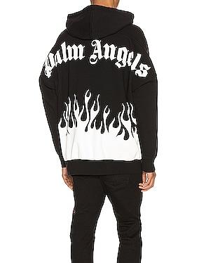 Burning Logo Hoodie