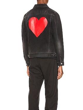 Pin My Heart Denim Jacket