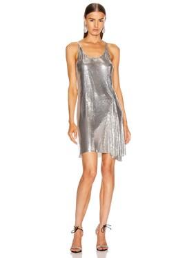 Mesh Tank Mini Dress