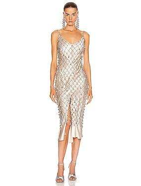 Crystal Net Dress