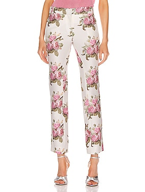 Floral Printed Trouser Pant