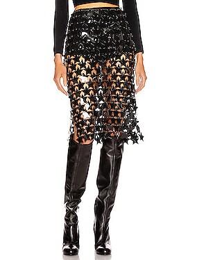Star Pailette Skirt