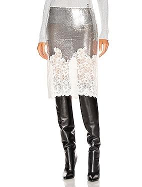Mesh Lace Skirt