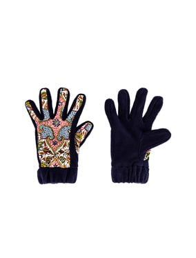 Iranian Print Fleece Gloves