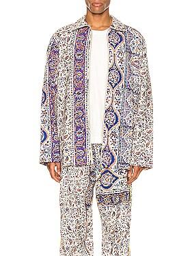 Iranian Print Overshirt