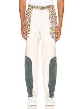 Iranian Panel Suit Trousers