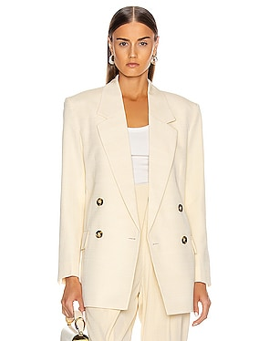 Knotted Lapel Blazer