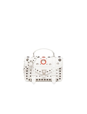 Tiny PS1 Leather Bag with Grommets