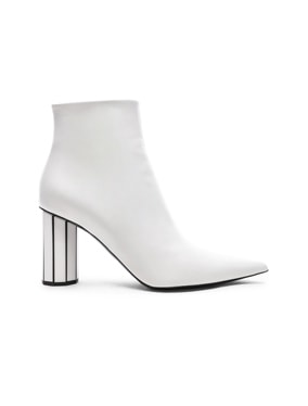 Mirror Heel Ankle Boots
