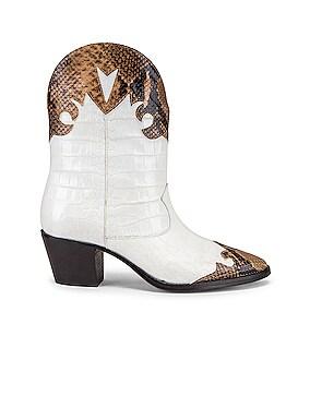Python Moc Coco Texano Boot