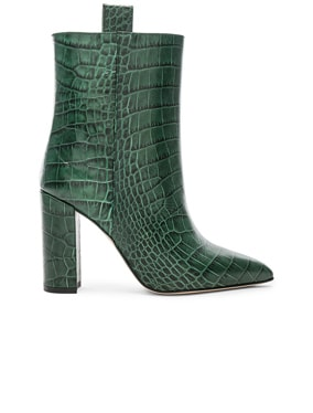 Croco Ankle Boot