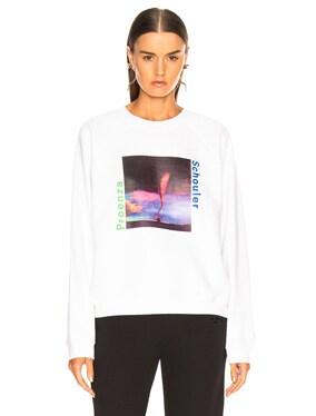 Twister Care Label Shrunken Sweatshirt