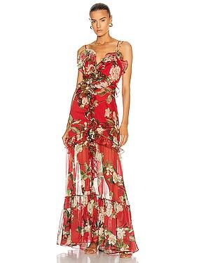 Floral Convertible Dress