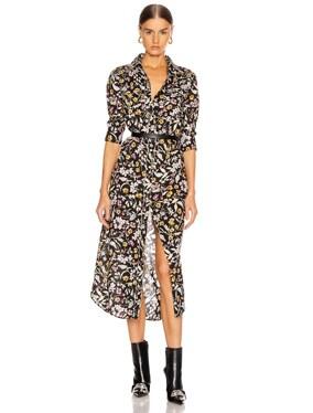 3/4 Sleeve Cowboy Dress